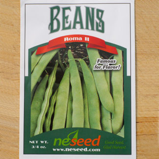 Roma II Bean Seeds