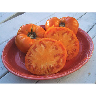 Brandywine Yellow Heirloom Tomato